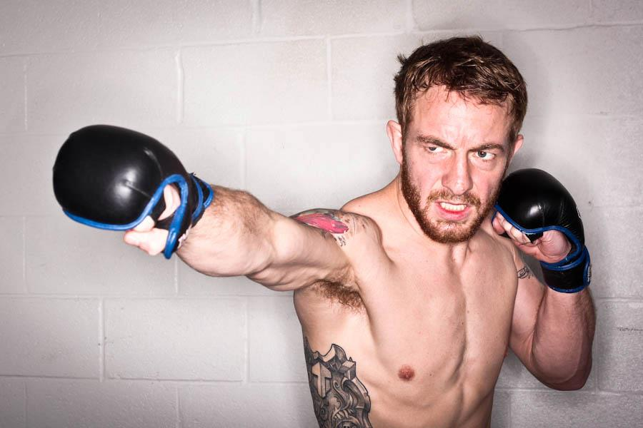 """Meet and Greet MMA Fighters Joe """"The Nose"""" Wilk and Dave"""