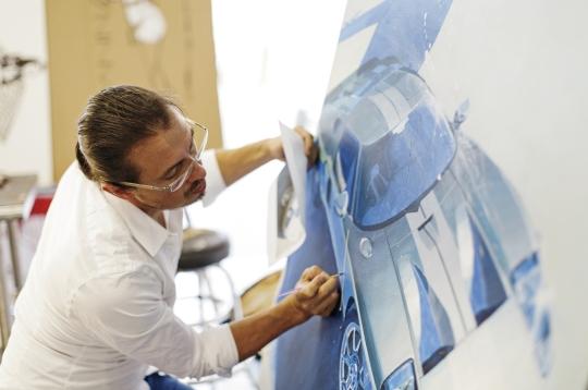 Camilo Pardo Sketches The Ford GT