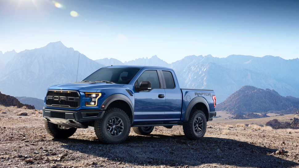 Ford has just dropped the veil on itu0027s all new ultimate off-road beast! The 2017 Ford F-150 Raptor is here with a twin-turbo Ecoboost V6 engine. & Mel Hambelton Ford Inc | The 2017 Ford F-150 Raptor Has Arrived! markmcfarlin.com